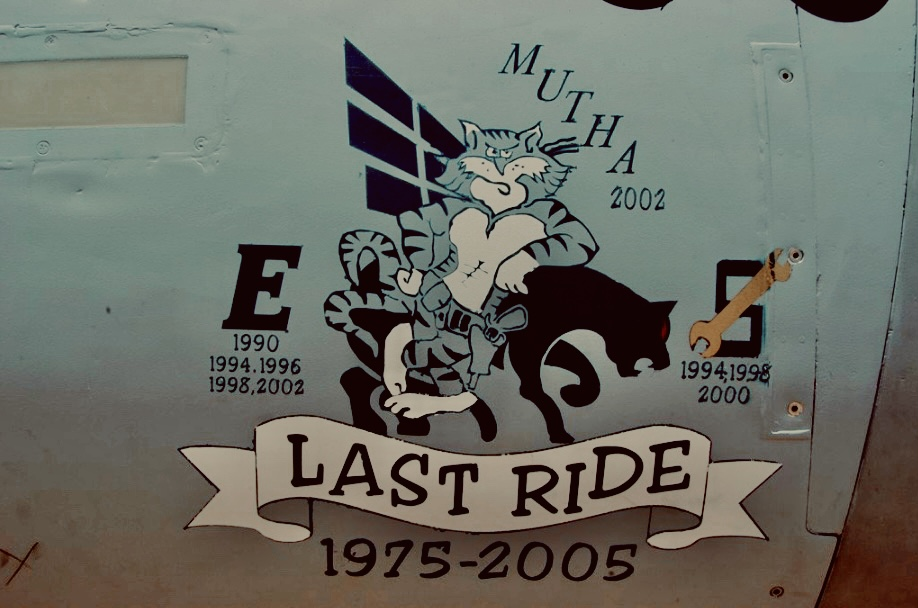 last ride nose art